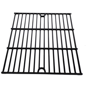 Porcelain Cast Iron Cooking Grid Replacement For Tera Gear 1010007A, 13013007TG, Nexgrill 720-0719BL, 720-0773 and Phoenix KS10002 Gas Grill Models, Set of 2