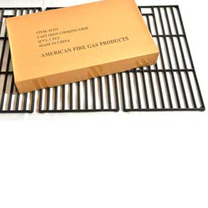 Cast-Iron Cooking Grids For Backyard Classic BY13-101-001-12 & Kenmore 146.16133110, 146.1613211 Gas Grill Models