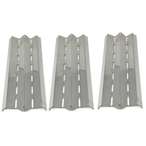 Broil-KIng 9877-86, 9877-87, 9879-44, 9879-47, 9887-14, 9887-17, 9887-34 Stainless Heat Plate, Set of 3
