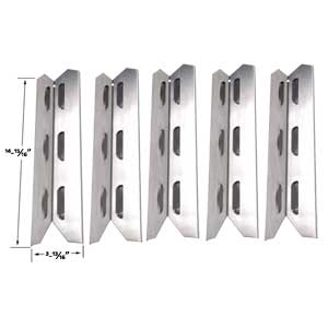 Kenmore 146.16198211, 146.23681310, 146.23686310, 146.23766310, 146.23770310 (5-PK) Stainless Heat Shield