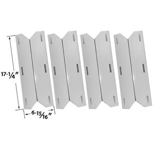 4 Pack Vaporizor Bar for Charmglow, Costco Kirkland 720-0038, 720-0083-04R, 720-0038, Nexgrill, Sterling Forge & Lowes Model Grills