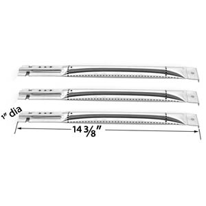 Replacement Repair kit For Charbroil 463320109 Gas Grill - 3 Stainless Steel Burners, 3 Stainless Heat Shields, 3 Crossover Tubes and Stainless Steel Cooking Grates