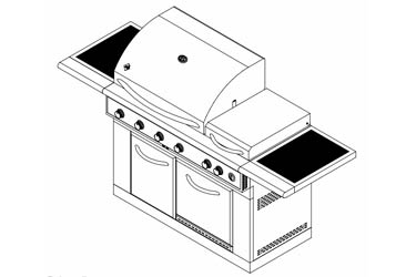 NexGrill Gas Grill Model 720-0586A