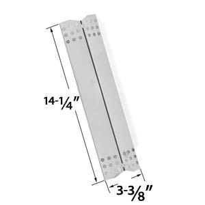 Replacement Stainless Steel Heat Plate for Grill Master 720-0737, 720-0697, Nexgrill 720-0697, 720-0737, 720-0825, Uberhaus, Tera Gear & Duro Gas Grill Models