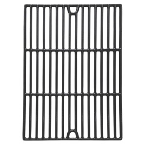 Gloss Cast Iron Cooking Grids For Patio Chef SS48, SS54, SS64, SS64LP, SS64NG and Brinkmann 2500, 2500 pro series, 2600, 2700, 2720, 4425, 4445 Gas Grill Models, Set of 2