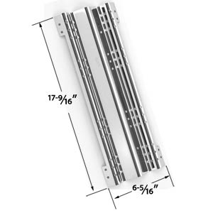 Stainless Steel Heat Plate Replacement for Brinkmann and Charmglow Gas Grill Models
