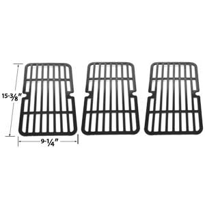 3 Pack Porcelain Cooking Grid For Brinkmann 810-9410-F, 810-9410-M, 810-9000-F, 810-9210-F, 810-9210-M, 810-9210-S Gas Grill Models, Set of 3