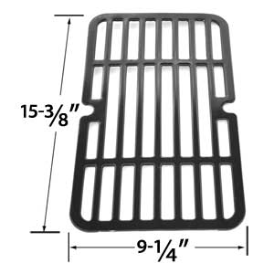 Porcelain Steel Replacement Cooking Grid For Brinkmann 810-9000-F, 810-9210-F, 810-9210-M, 810-9210-S, 810-9410-F, 810-9410-M Gas Grill Models