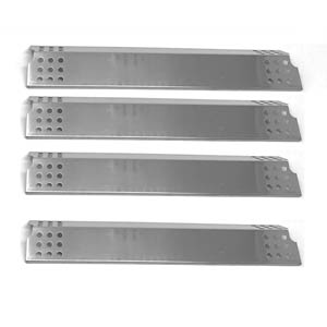 Stainless Heat Shield For Charbroil 463241314, 463241013, 463241313, 463241413, 466241013, 466241014 (4-PK) Gas Models