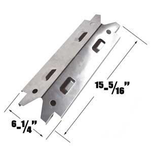 Stainless Heat Plate for Brinkmann 810-3660-S, 810-3660S Gas Models