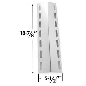 Stainless Steel Heat Plate Replacements for Gas Grill Model Fiesta EHL1130-K410 & Nexgrill 720-0133, 720-0133-LP