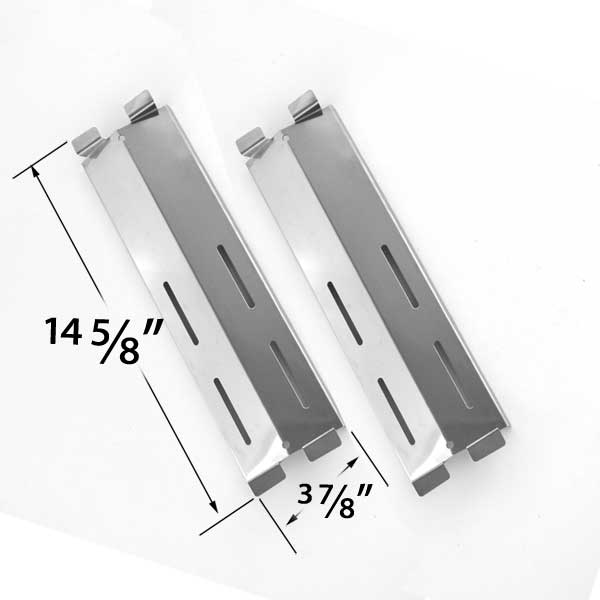 2 Pack Stainless Steel Heat Plate For Gas Grill Models By Coastal 9900 Cruiser Supreme Grand Hall Mfa05alp Patio Range Jamie Durie
