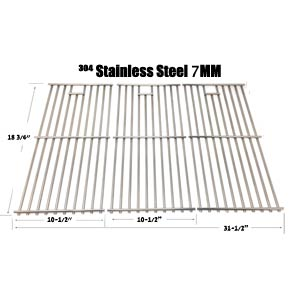 Stainless Steel Cooking Grid for BBQTEK GSC3219TA, GSS3219A, GSS3219B Gas Models