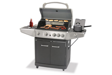 Uniflame Gas Grill Model GBC1103-WBL-U