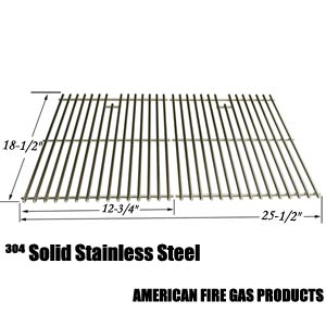 Stainless Steel Cooking Grid for DCS 27 Series, 27ABQ, 27ABQR, 27BQ, 27BRQ and Members Mark B09PG2-4B Gas Grill Models, Set of 2