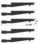 5 Pack Cast Iron Burner For Brinkmann 4615, 2600, 2700, 2720, 4415, 4425, 4445, 4676, 6650, 6650-T, 6668, 6670, 810-2500, 810-2500-0, 810-2500-1 Gas Grill Models
