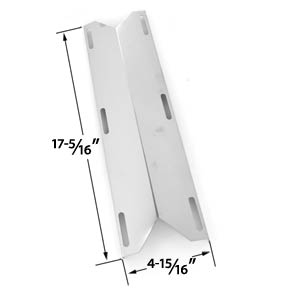 Charmglow 720-0304, 720-0396, HD 720-0304, Permasteel PG-50400S & Presidents Choice PC10011016 Gas Grill Stainless Steel Steel Heat Shield