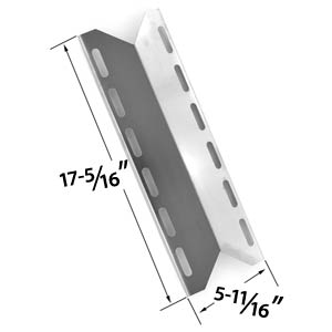 Replacement Stainless Steel Heat Plate for Charmglow 720-0125, 720-0234, 720-0289, Home Depot SS 5 Burner, Nexgrill, Perfect Flame, Perfect Glo Model grills