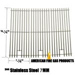 Replacement 3 Pack Heavy Duty Stainless Steel Cooking Grates For Sams 720-0584A Members Mark 720-0584A and Members Mark: 720-0584A Gas Grill Models, Set of 3