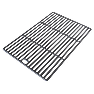 Matte Cast Iron Cooking Grid for BBQ Grillware GSC2418, GSC2418N, 164826, 102056 and Perfect Falme 13133, 225152, 61701, 2518SL, SLG2007A Gas Grill Models, Set of 2
