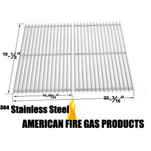 Stainless Grid For DCS 27, 27 series, 27DBQ, 27DBQR, 27DBR, 27DSBQ, 27DSBQR Gas Models, Set of 2