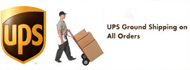 UPS Ground Shipping for All Orders for bbq parts