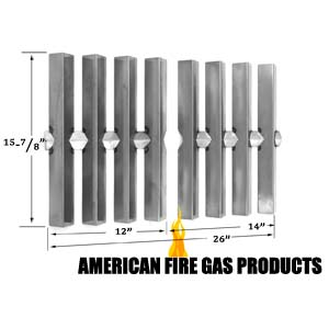 Stainless Heat Shields For 5230001, 5240001, 5240501, 5330001, 5340001, 5340501, 5730001, Summit Weber Gas models