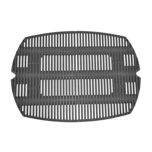 Weber 7584 Cast Iron Cooking Grate For Weber Q 300 Series Gas Grills, Set of 2